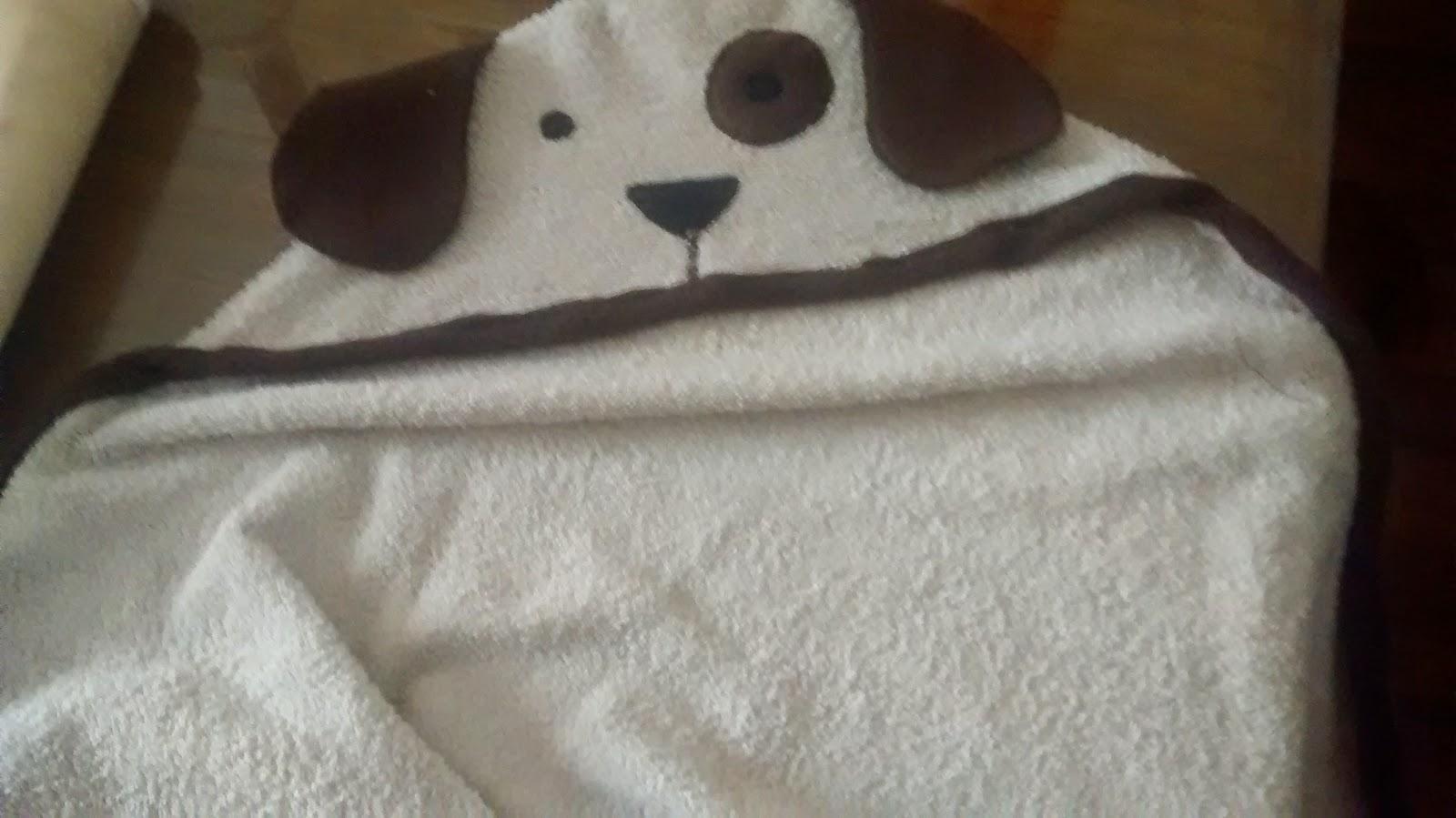 toalla capucha de perro