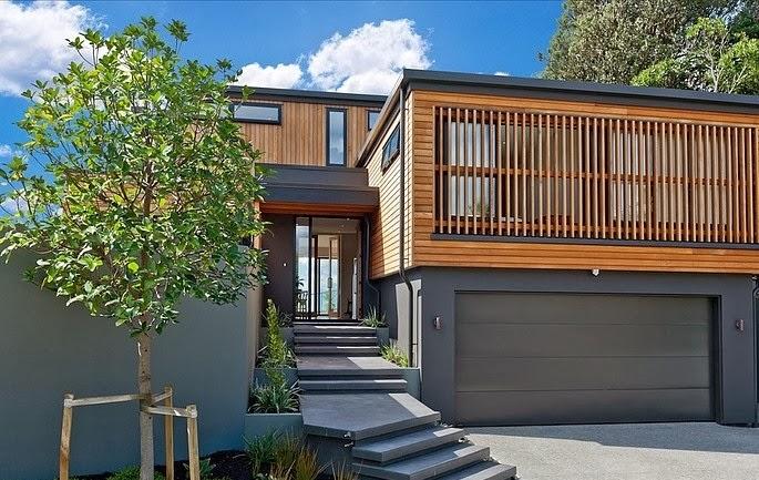Desain Rumah Minimalis Modern di Selandia Baru