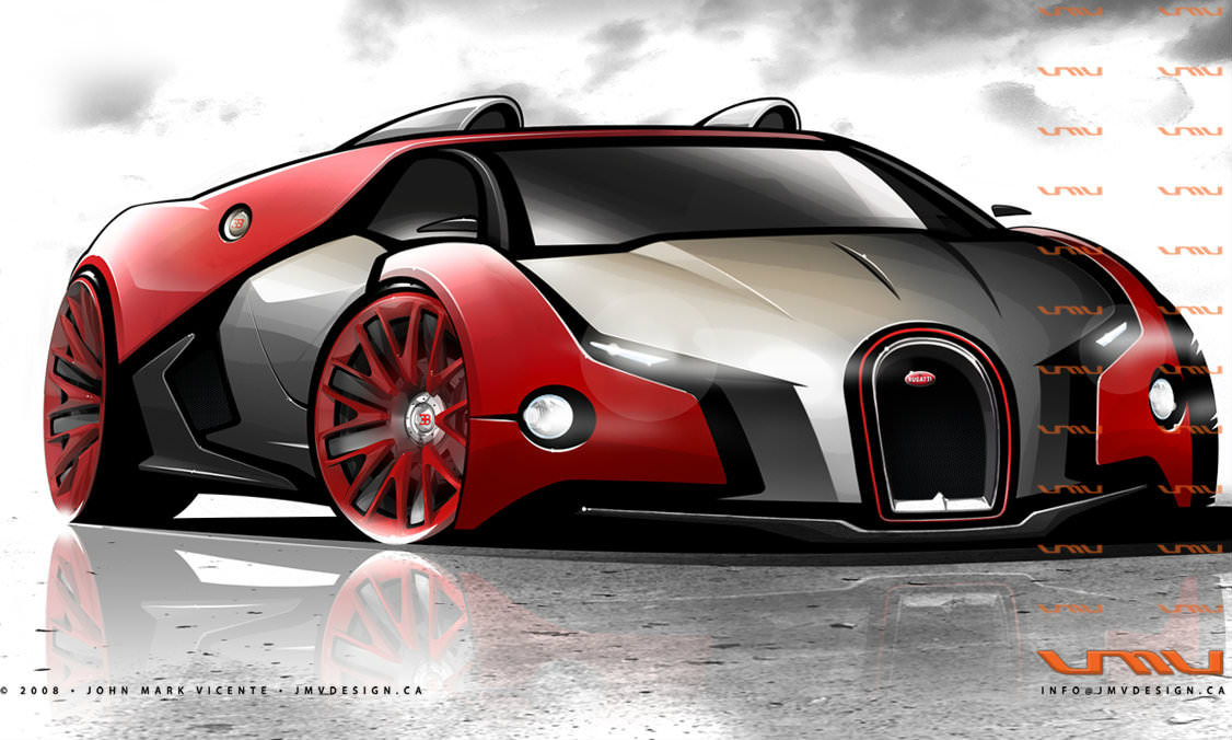 Bugatti Renaissance GT Concept Car by John Mark Vicente