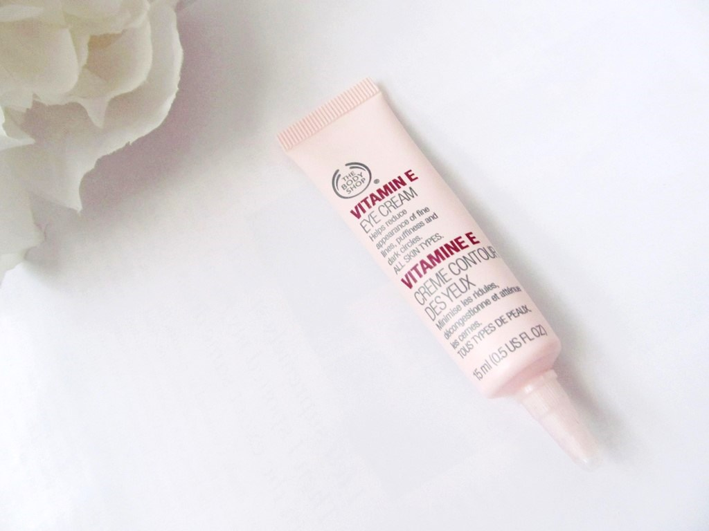 The Body Shop Vitamin E Eye Cream | Review