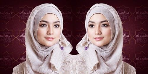 Tren Tabrak Motif Jadi Gaya Fashion Hijab Tahun 2015