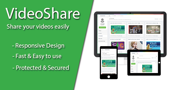 VideoShare v1.0.0.1 – Video Sharing Platform