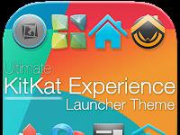 KitKat 4.4 Launcher Theme APK v2.8