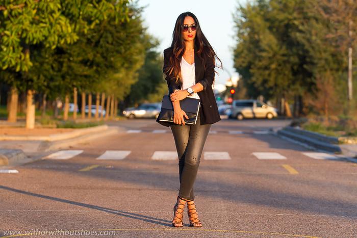 Blogger de moda valenciana adicta a los zapatos con sandalias Isabel Marant