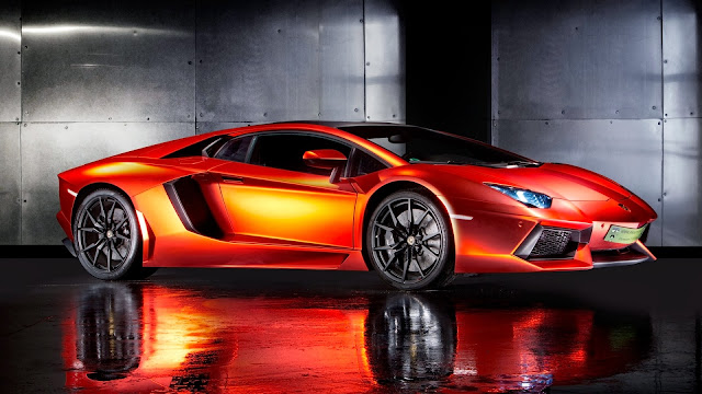 2013 Print Tech Lamborghini Aventador HD Wallpaper