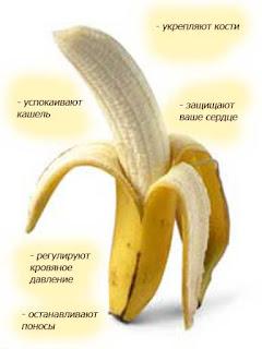 Бананы почистить и сделать из них пюре
