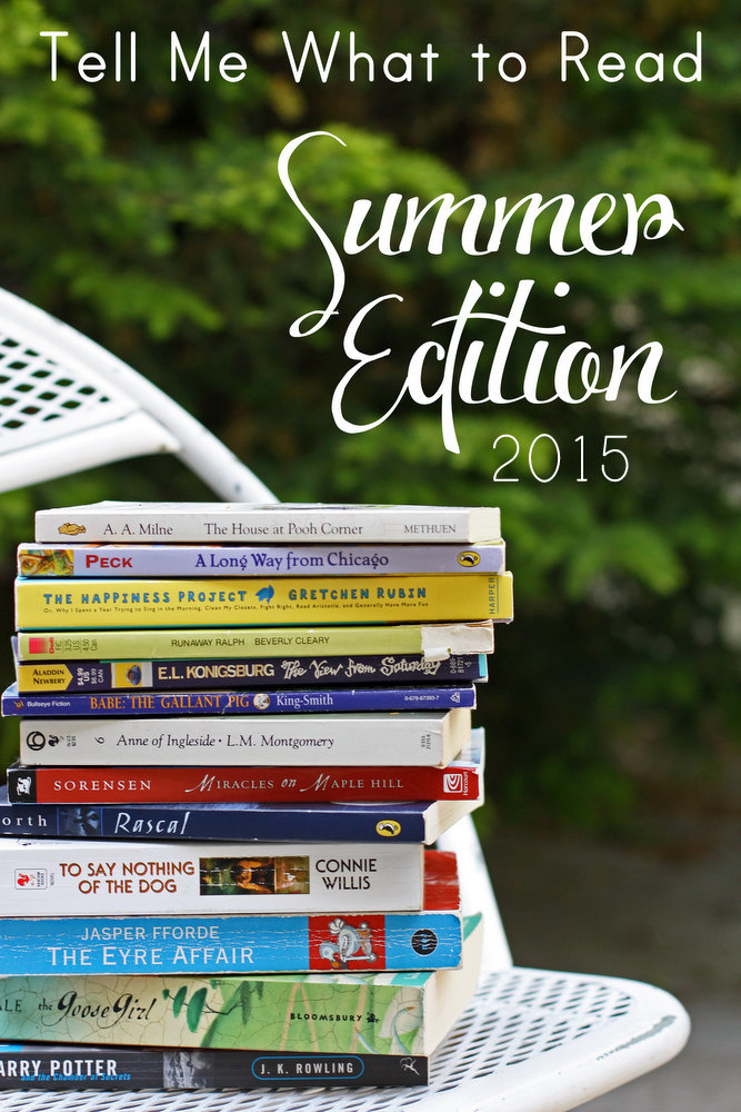 Great suggestions for summer reading. You'll definitely find something to love here!