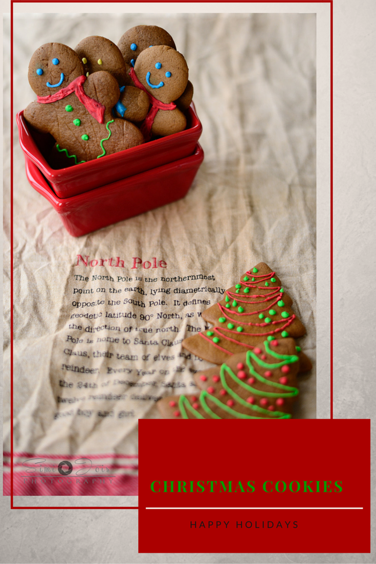 Soft and chewy gingerbread man cookies with warm spices for the holidays, made from scratch