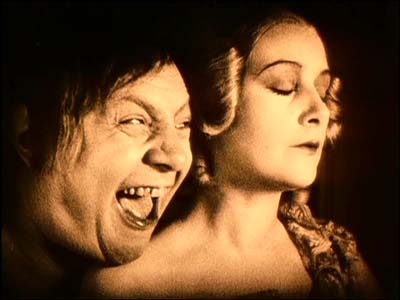 Emil Jannings and Lil Dagover in Tartuffe