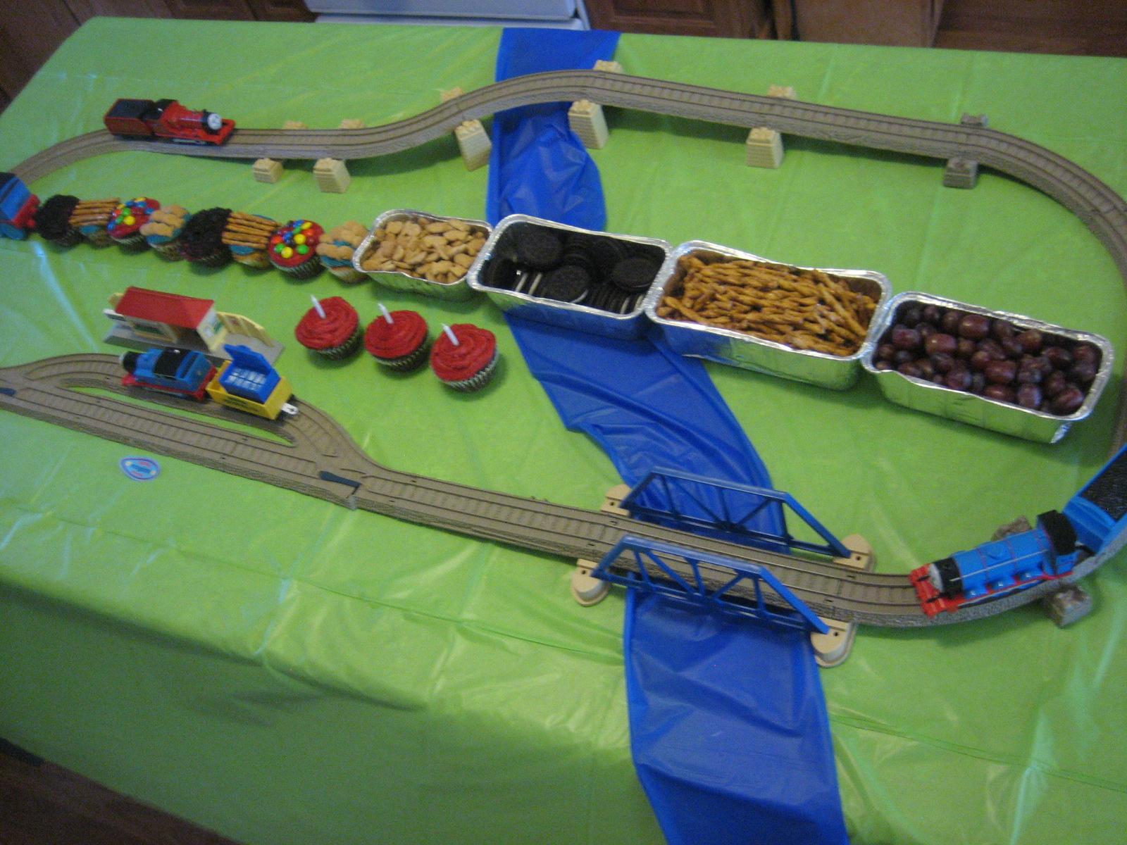 : Thomas The Train Birthday Party For My Boys