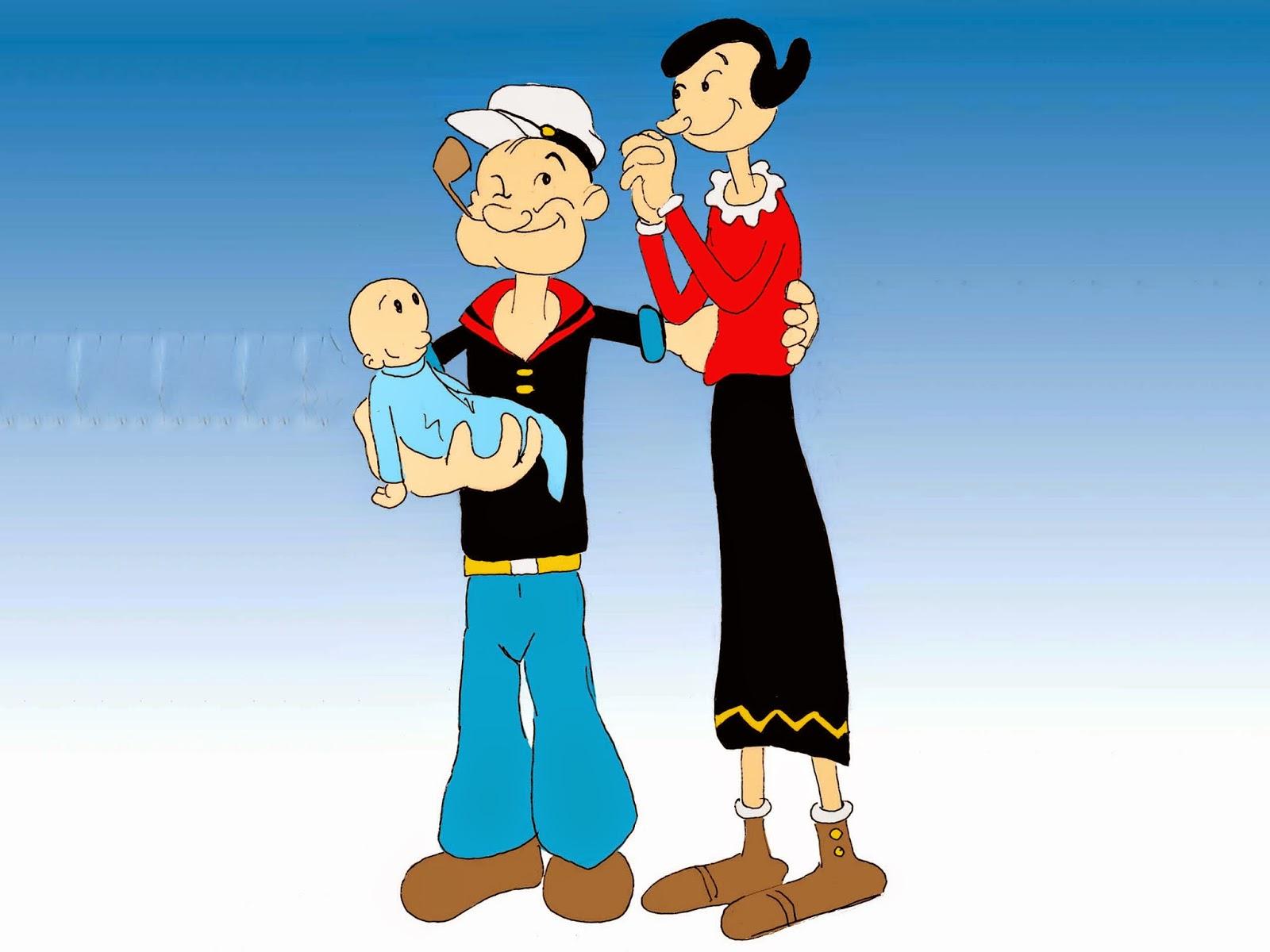 Wallpaper Popeye The Sailor
