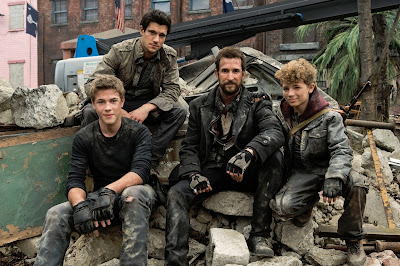 The Mason family of Falling Skies