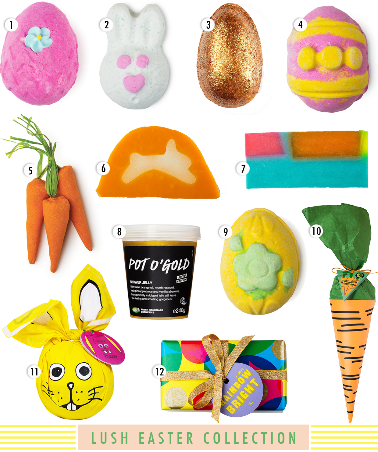 LUSH Easter 2015 Collection, lush easter