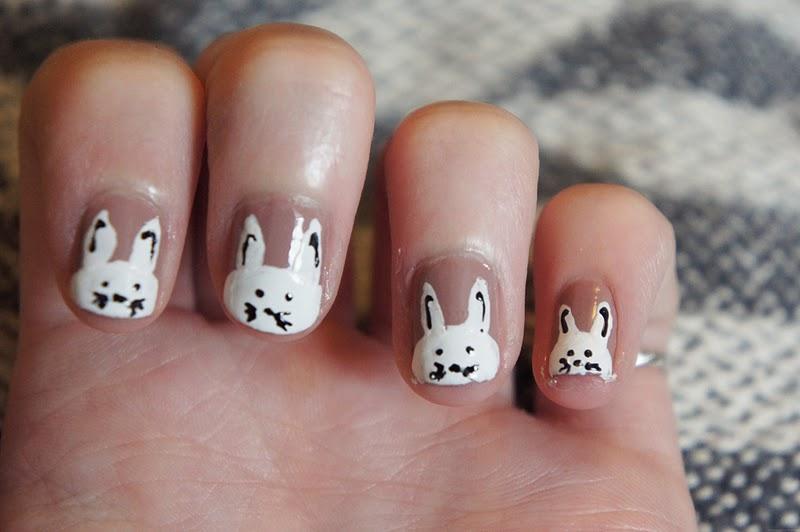 E Elise Etc Rabbit Nail Tutorial