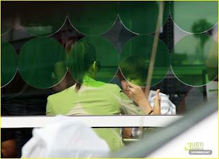 justin bieber eating lunch with Kim Kardashian
