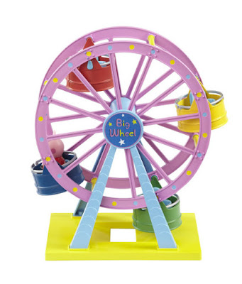 TOYS : JUGUETES - PEPPA PIG  Noria Rosa : Parque de atracciones  Theme Park Big Wheel Producto Oficial Serie Television 2015 | Bandai | A partir de 3 años Comprar en Amazon España & buy Amazon USA