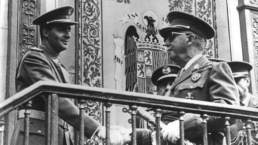Juan Carlos y Franco