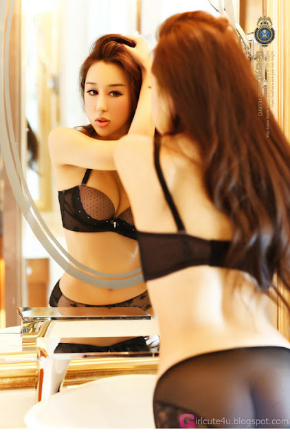 3 Xie Jia - Black-Very cute asian girl - girlcute4u.blogspot.com