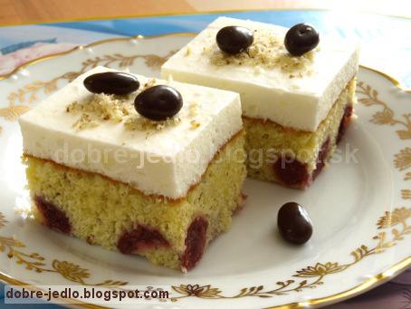 Višňový koláč - recepty