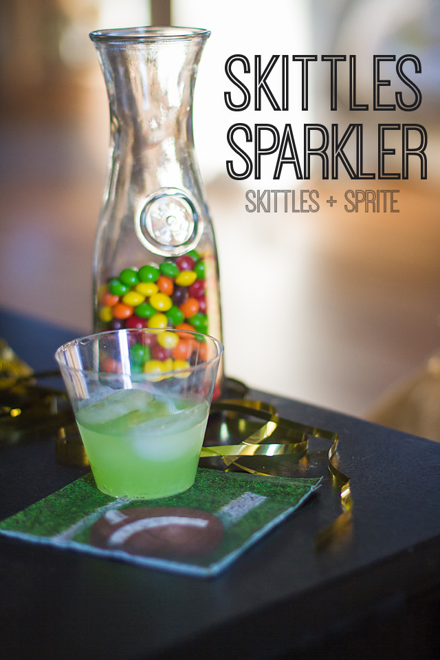 Skittles Sparkler #BigGameTreats