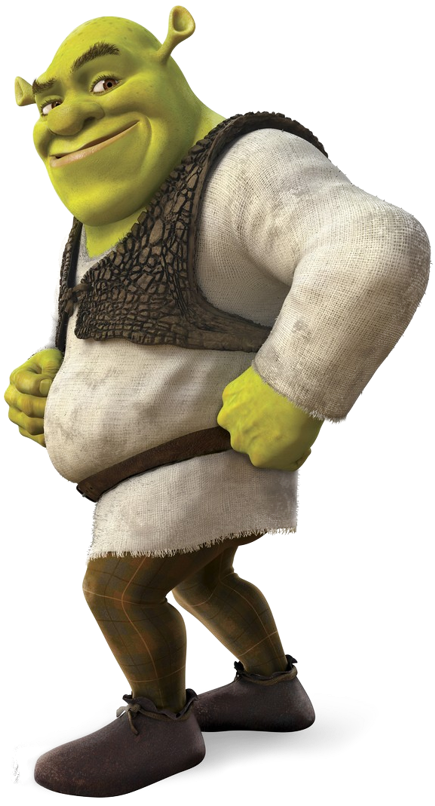 Shrek 2 Cartoon Characters : Cartoon characters madagascar and shrek png