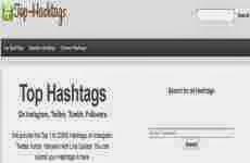 Top Hashtags: los principales hashtags de Instagram, Twitter y Tumblr en tiempo real