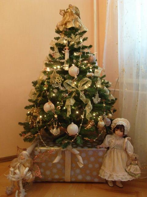 Новогодняя макушка для елки