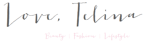 Love, Telina | UK Beauty, Fashion and Lifestyle Blog