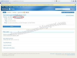 Cara mendaftar di webmoney