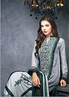 Ittehad Royal Embroidered Linen Series-2014-15