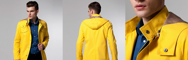 The Superhero 24KT Shield Raincoat - 299$