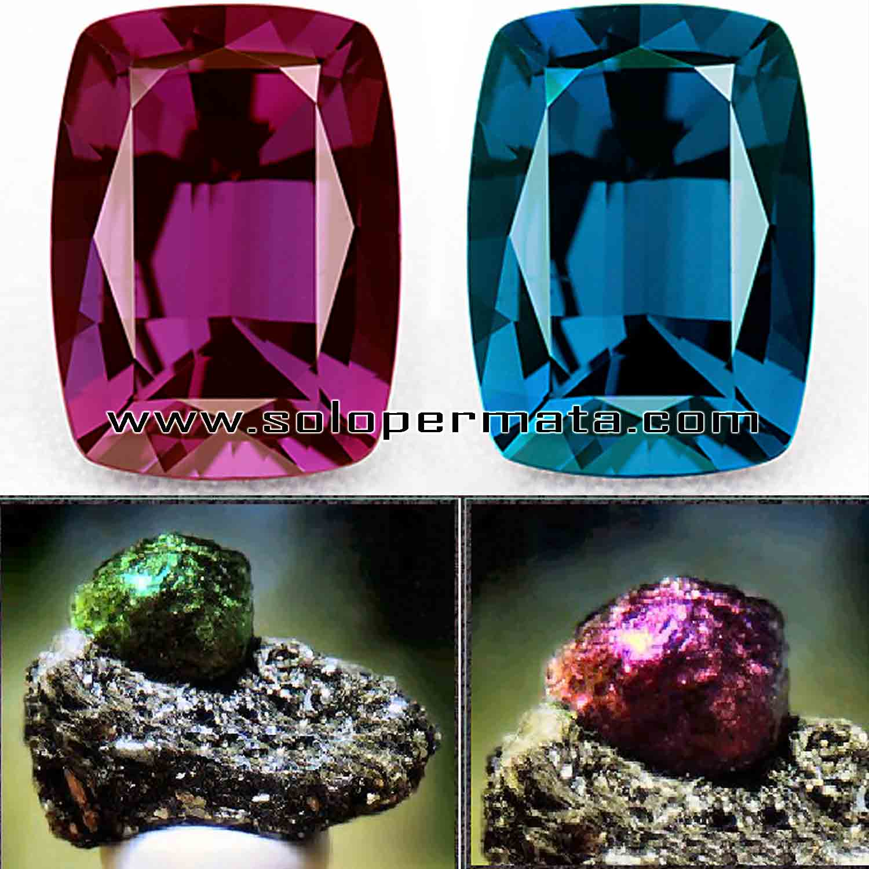 Artikel Batu Permata Natural Alexandrite Chrysoberryl
