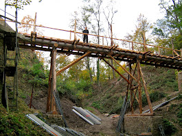Die neue Brücke von untern