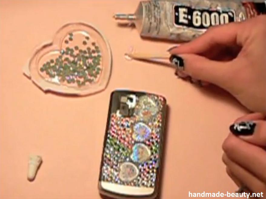 Как украсить телефон в домашних условиях