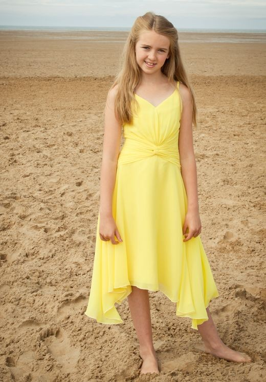 yellow junior bridesmaid dresses vintage yellow wedding