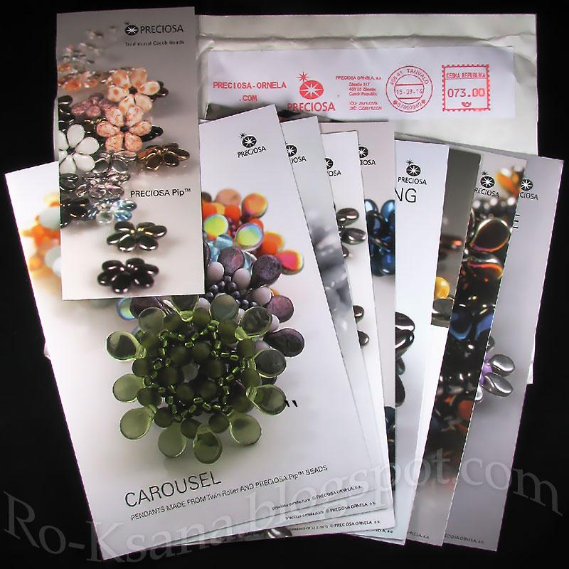 Pip beads accessories booklets Обучающие материалы бижутерия с бусиными Pip