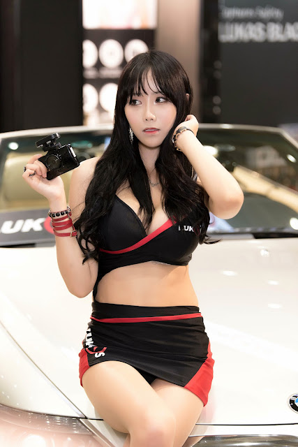 4 Kim Ryu Ah - Seoul Auto Salon - very cute asian girl-girlcute4u.blogspot.com