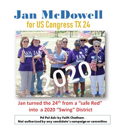 Jan McDowell 2020