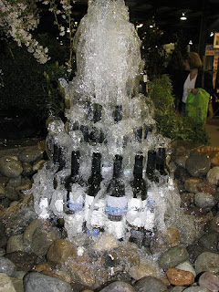 Create an Inspiring Wine Bottle Garden Fountain