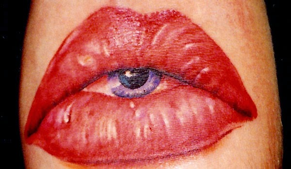 Lips Tattoo