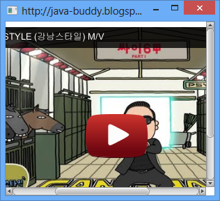 Embed Youtube video in JavaFX WebView