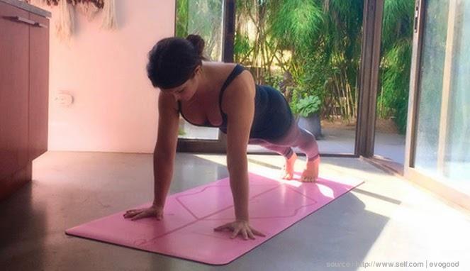 Gerakan yoga, lengan indah