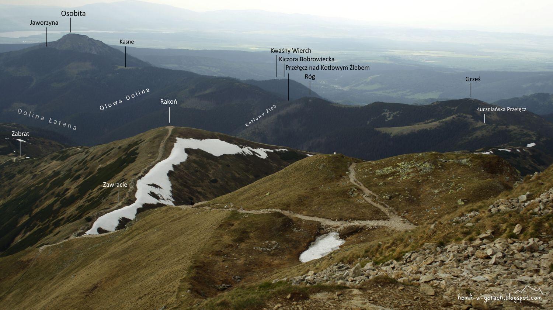 Wołowiec - panorama