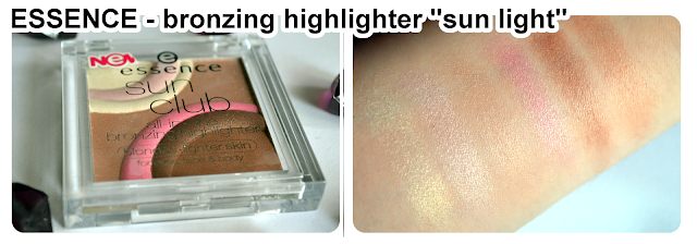 essence bronzing highlighter SUN LIGHT - BLONDES