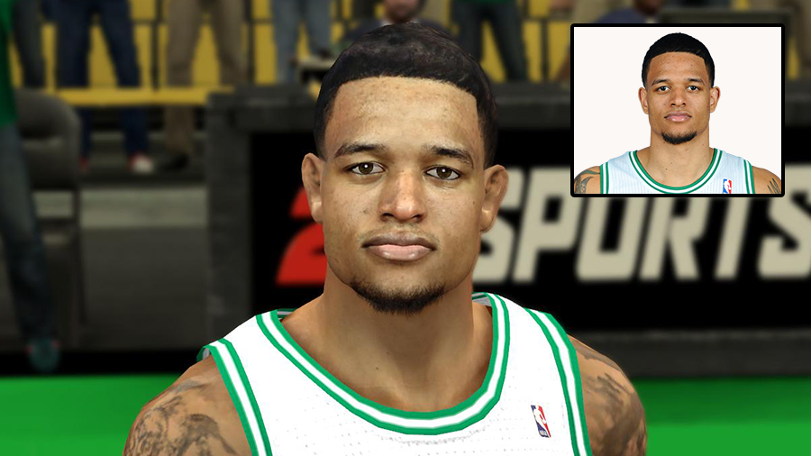 NBA 2K14 Realistic Face Chris Babb Mod