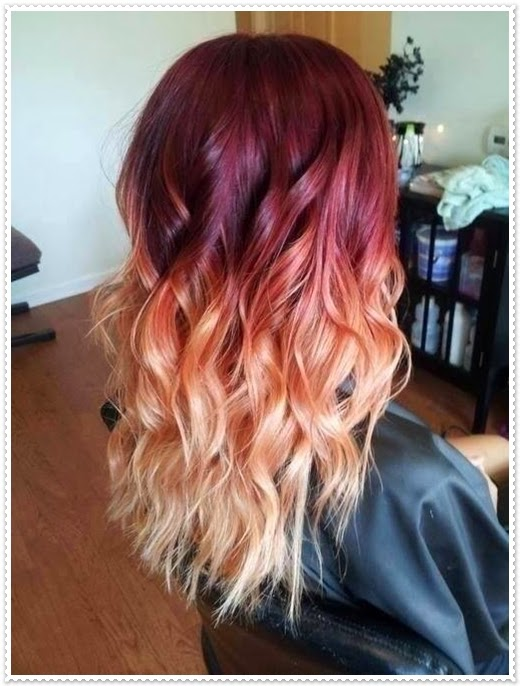 Ombre Haarmodelle 2014