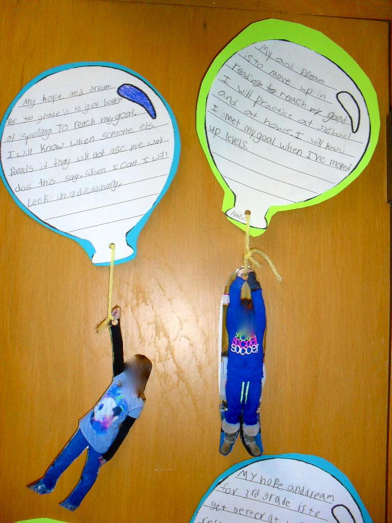 Hopes and dreams - creative writing.