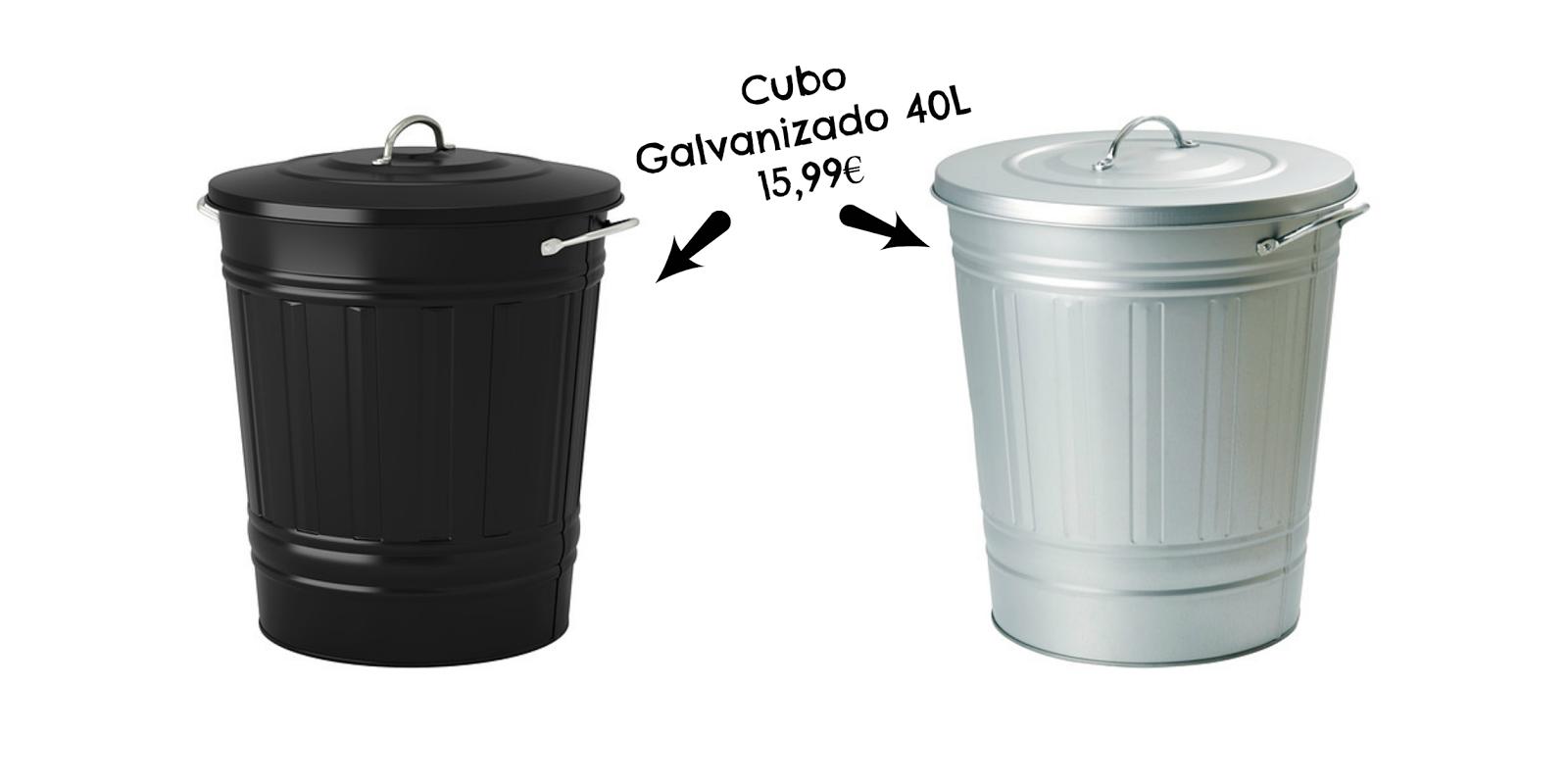 Pitis and lilus diy customizando un cubo de basura - Cubo metalico ikea ...