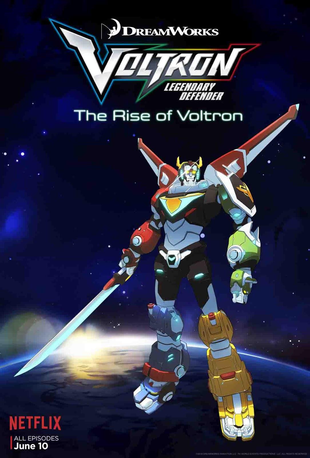 Voltron: O Defensor Lendário 1ª Temporada Torrent - WEBRip 720p e 1080p Dual Áudio (2016)