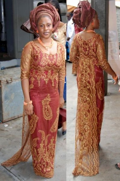 Lace Blouse Styles For Nigerian Women